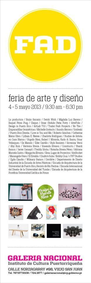 Feria de Arte y Diseño 2013